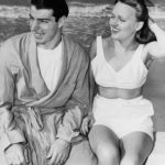 Joe DiMaggio and Dorothy Arnold Enjoying the Beach
