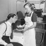 J.Dimaggio Served Food By Dorothy Arnold