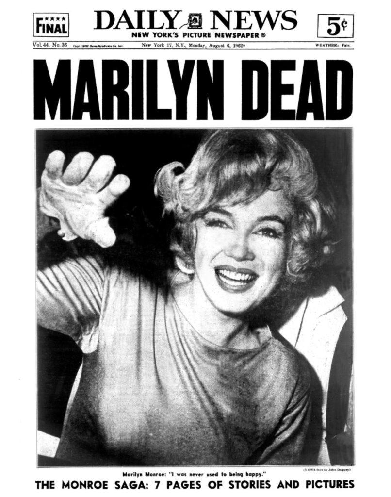 newspaper-death-marilyn